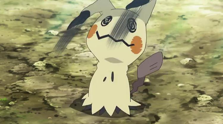 Mimikyu from Pokemon anime