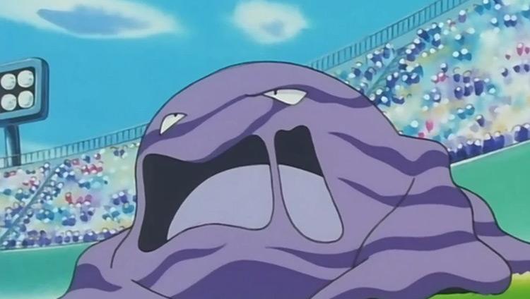 Muk Pokemon anime screenshot