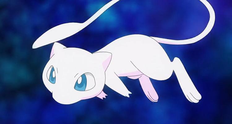 Mew Pokemon anime screenshot