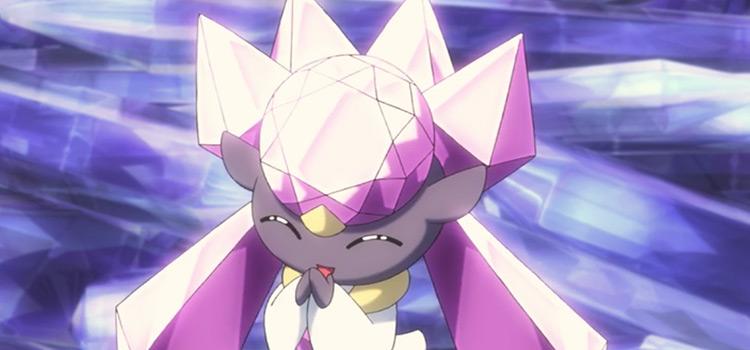 Diancie Pokemon anime screenshot
