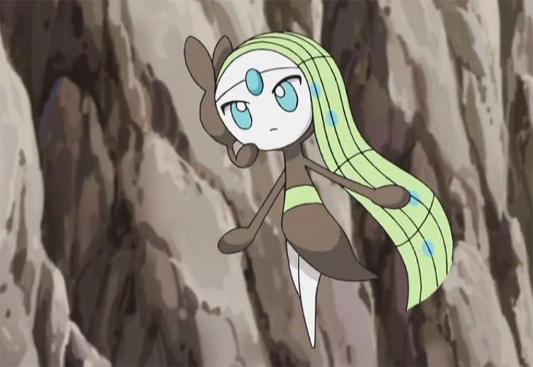 Meloetta from Pokemon anime
