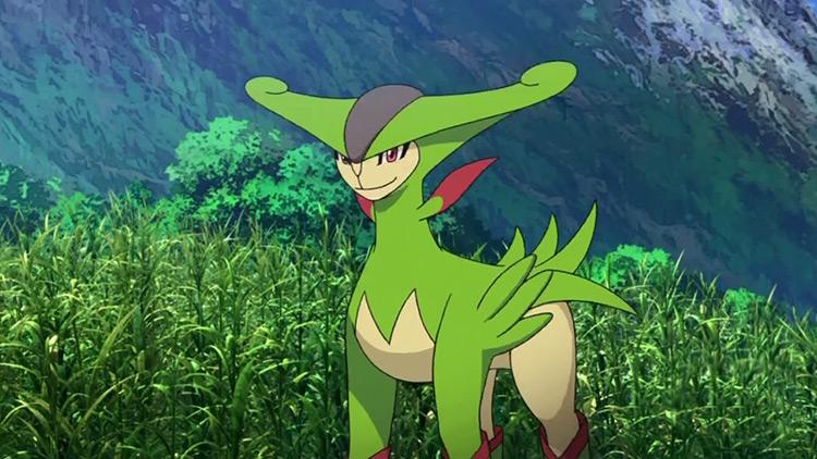 Virizion Pokemon anime screenshot