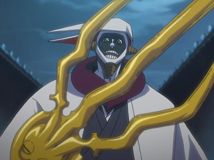 Kurotsuchi Mayuri Bleach anime screenshot