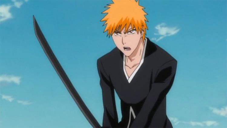 Ichigo Kurosaki in Bleach anime