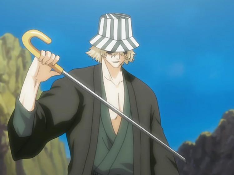 Urahara Kisuke from Bleach anime
