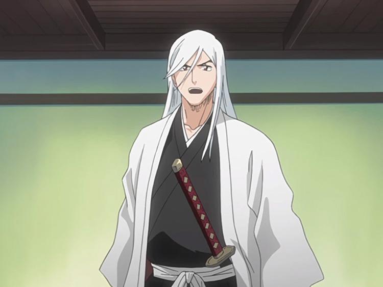 Ukitake Jushiro in Bleach anime