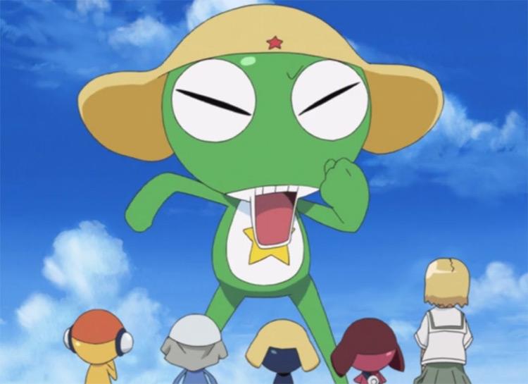 Sgt. Frog anime screenshot