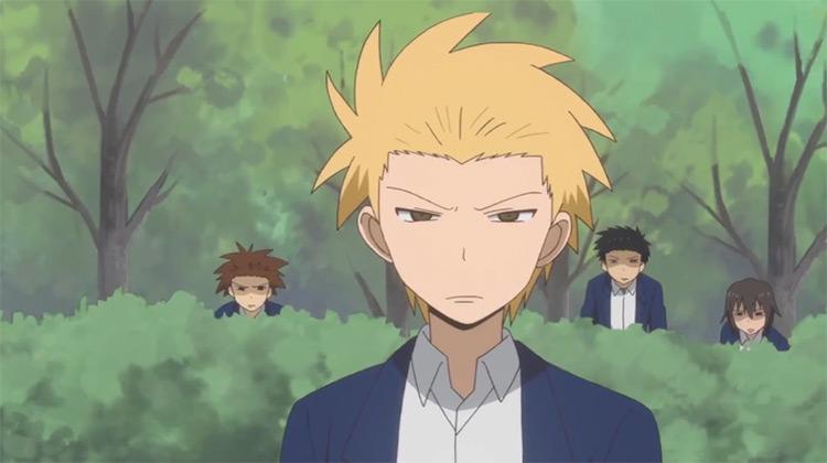 Daily Lives of High School Boys / Sunrise Studio anime
