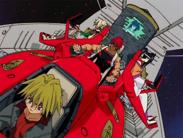 Outlaw Star anime screenshot