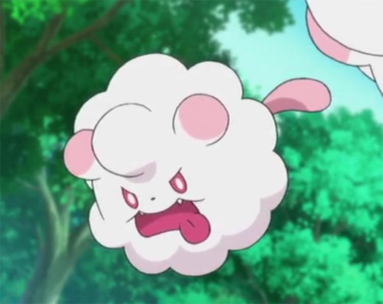 Swirlix from Pokemon anime