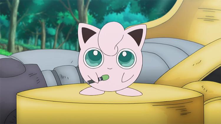 Jigglypuff Pokemon in the anime