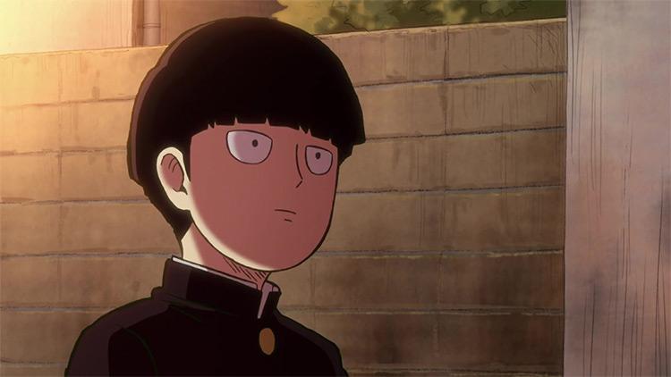 Shigeo Kageyama Mob Psycho 100 anime screenshot