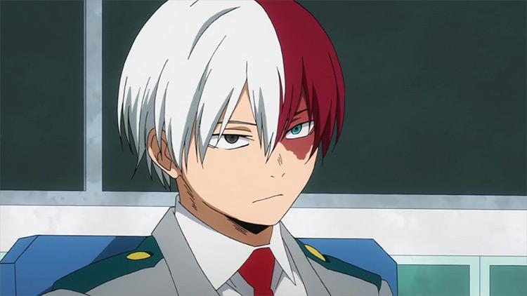 Shouto Todoroki in My Hero Academia anime