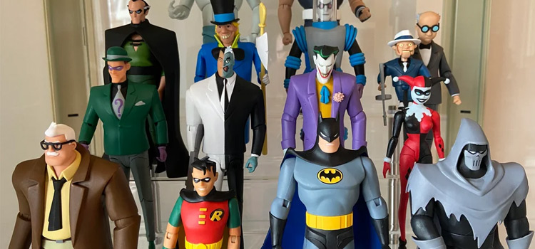 Batman The Animated Series collectible figures
