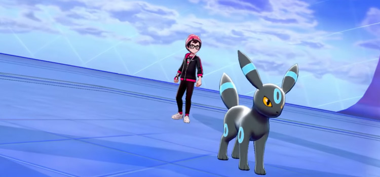 Shiny Gen2 Umbreon in Pokemon Sw/Sh