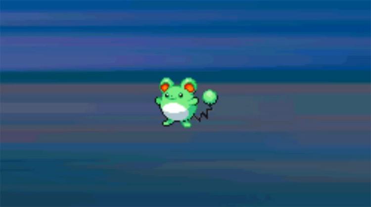 Shiny Marill from Pokémon HeartGold and SoulSilver