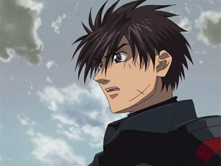 Sousuke Sagara in Full Metal Panic! anime