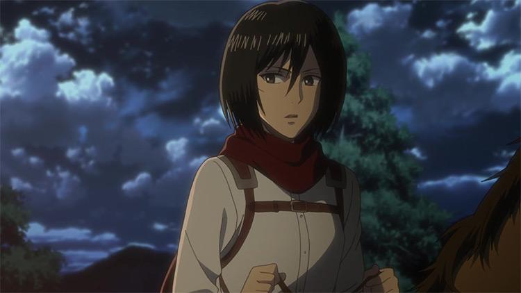 Mikasa Ackerman from Attack on Titan anime