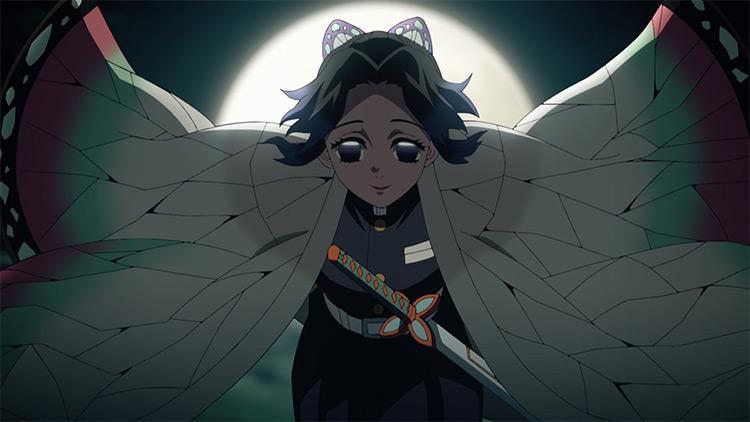 Shinobu Kochou from Demon Slayer anime