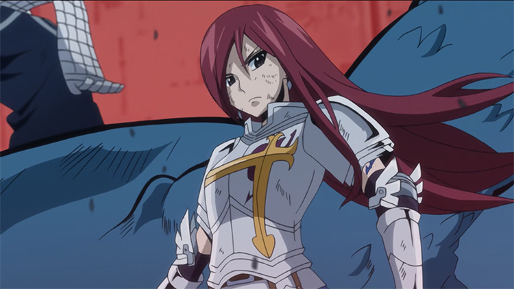 Erza Scarlet from Fairy Tail anime