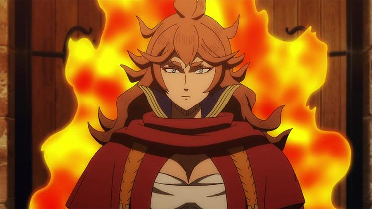 Mereoleona Vermillion from Black Clover anime