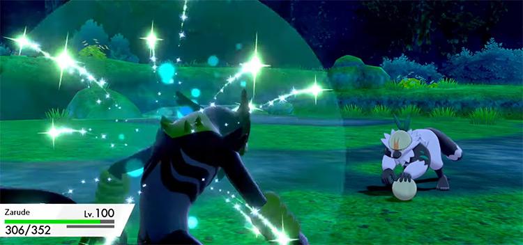 Jungle Healing Pokémon SWSH move