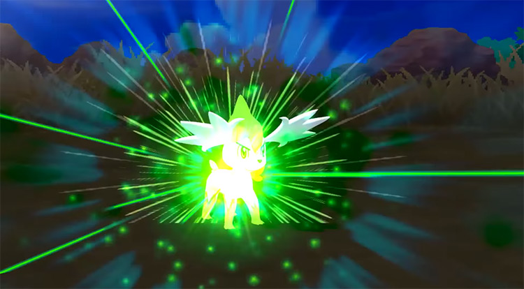Seed Flare move in Pokémon Ultra Sun and Ultra Moon