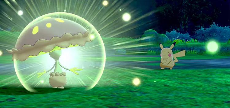 Solar Beam from Pokémon SWSH