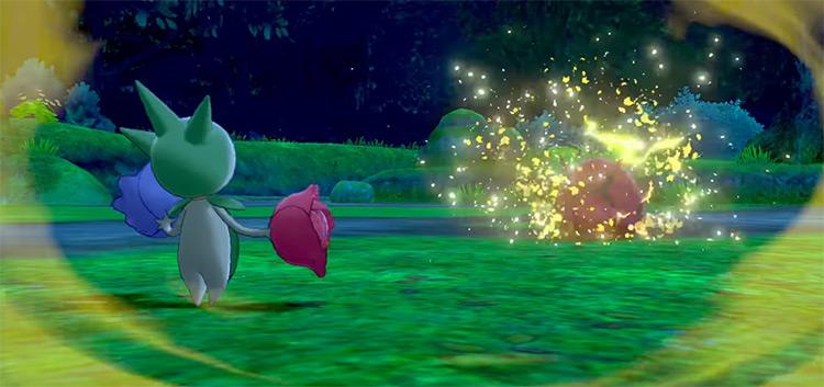 Stun Spore Pokémon move SWSH
