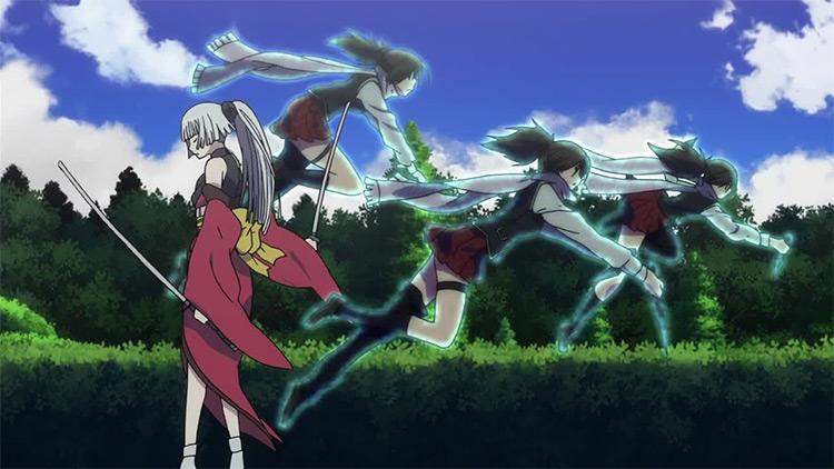 Trinity Seven anime screenshot