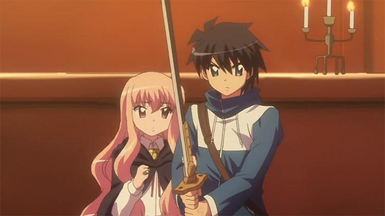The Familiar of Zero anime screenshot