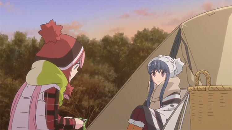 Laid-Back Camp anime screenshot