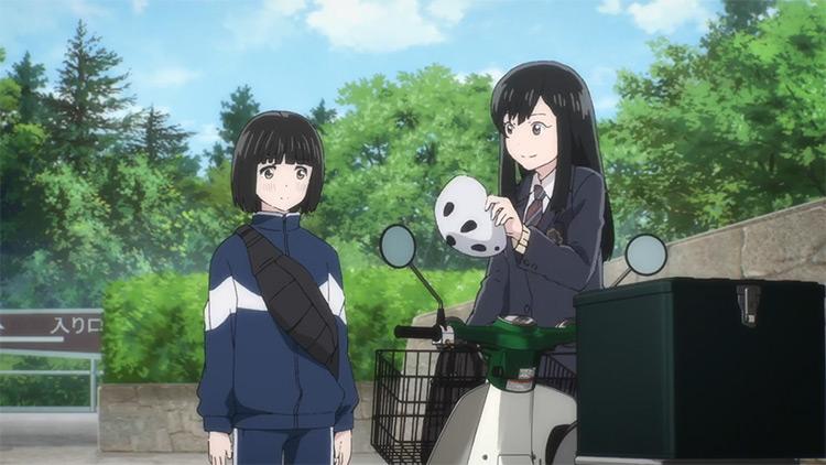 Super Cub anime screenshot