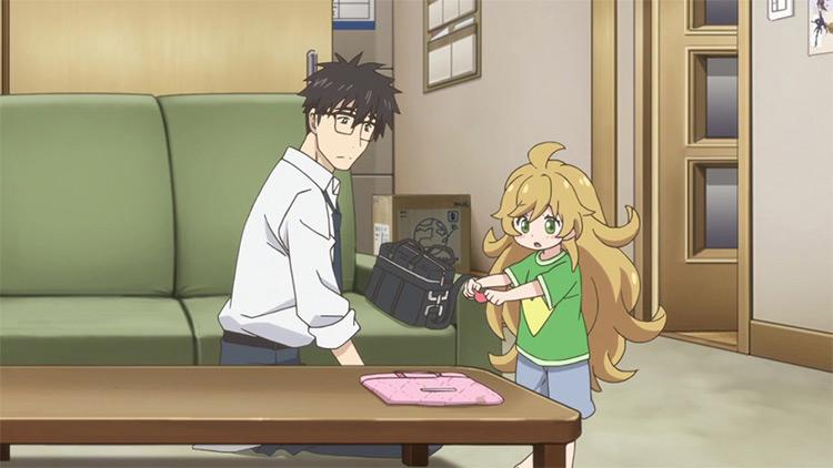 Sweetness and Lightning anime screenshot