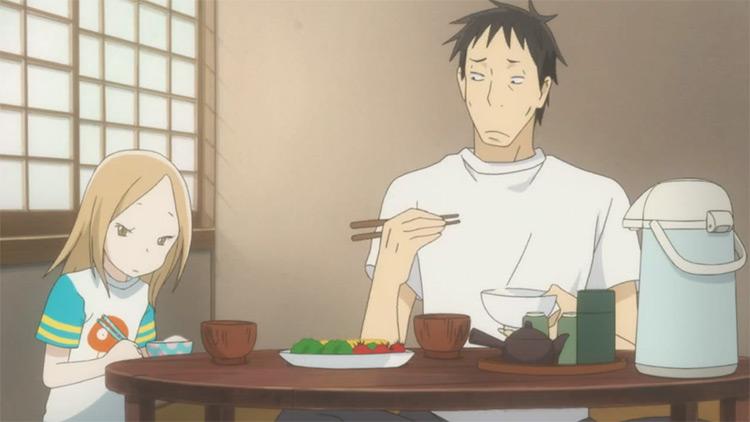 Bunny Drop anime screenshot