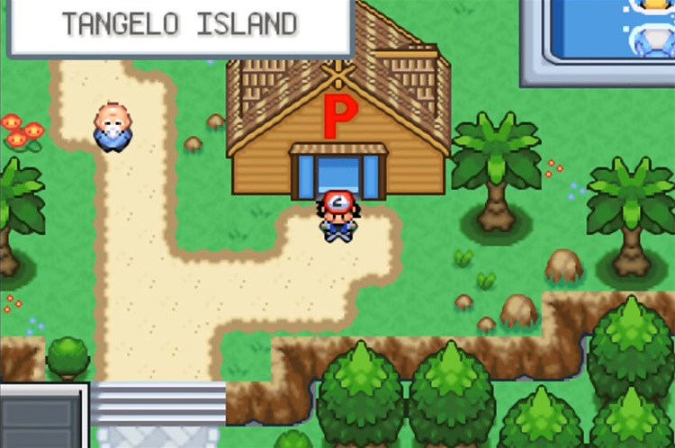 Pokémon Orange Islands ROM Hack - Tangelo Island Screenshot