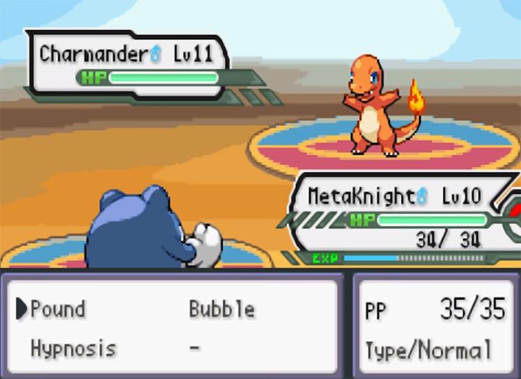 Pokémon Adventure Red ROM Hack screenshot
