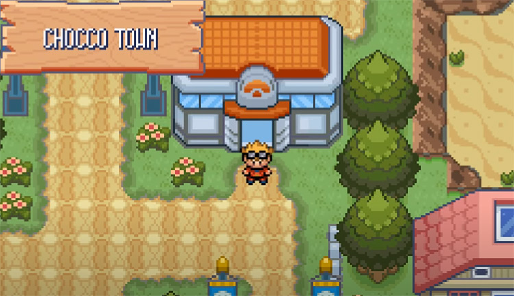 Pokémon Glazed gen3 rom hack Screenshot