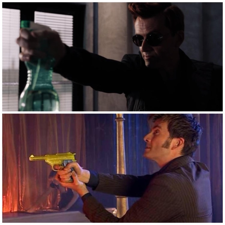 Golden gun meme dr who