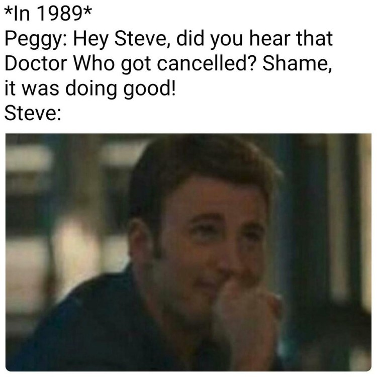 Cancelled Dr Who joke