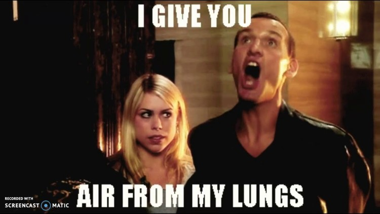 I give you air from my lungs!