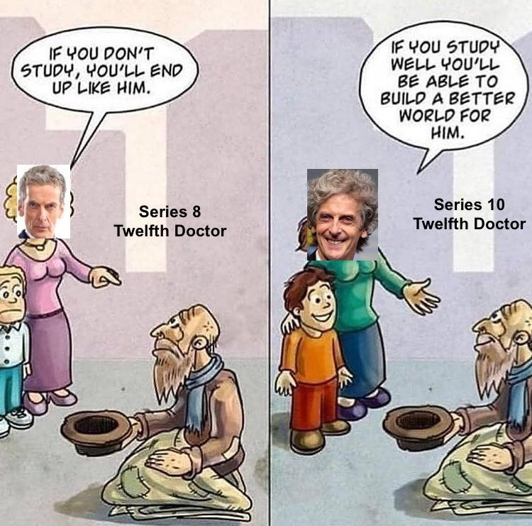 Series 10 twelfth doctor