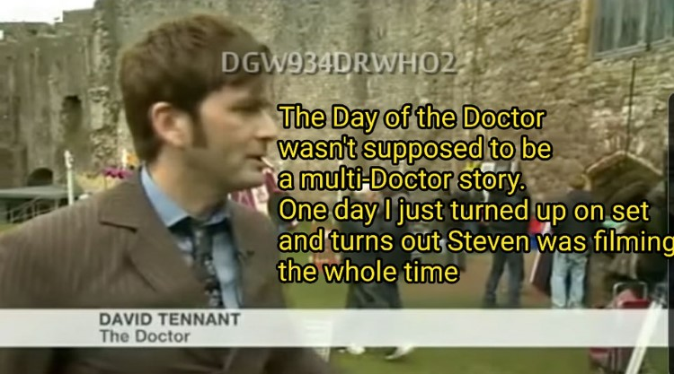 The Day Dr Who wanst supposed to be a multi-doctor story