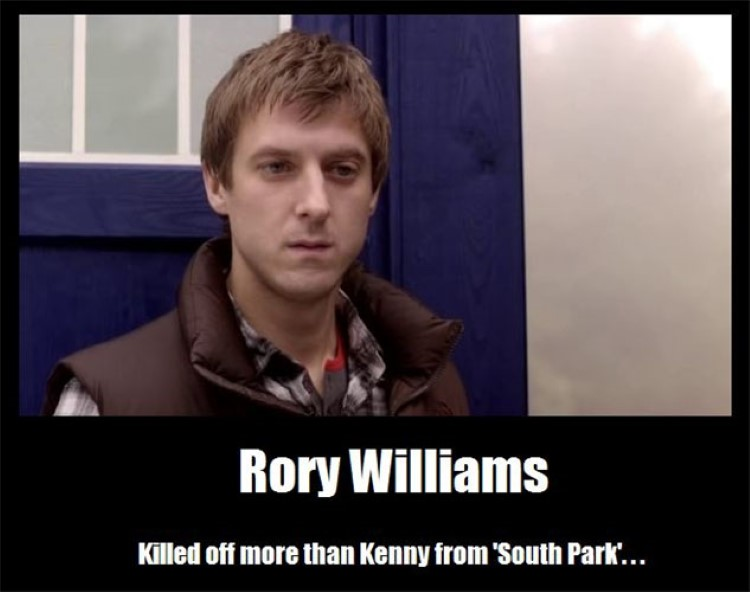 Rory williams killed off more than Kenny joke