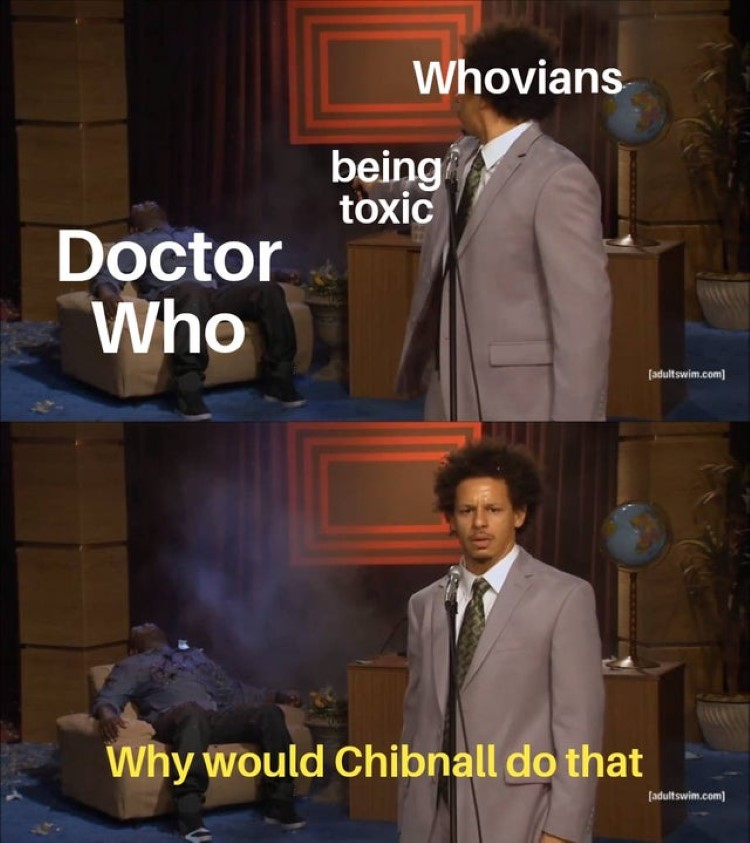 Whovians shot dr who, why would Chibnall do that?