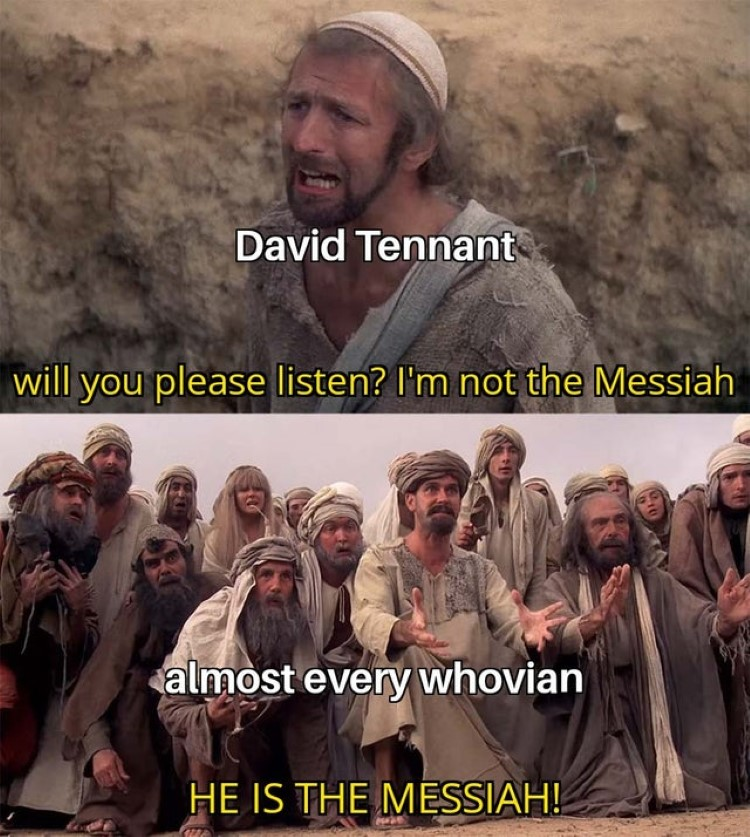 Will you please listen? He is the messiah!