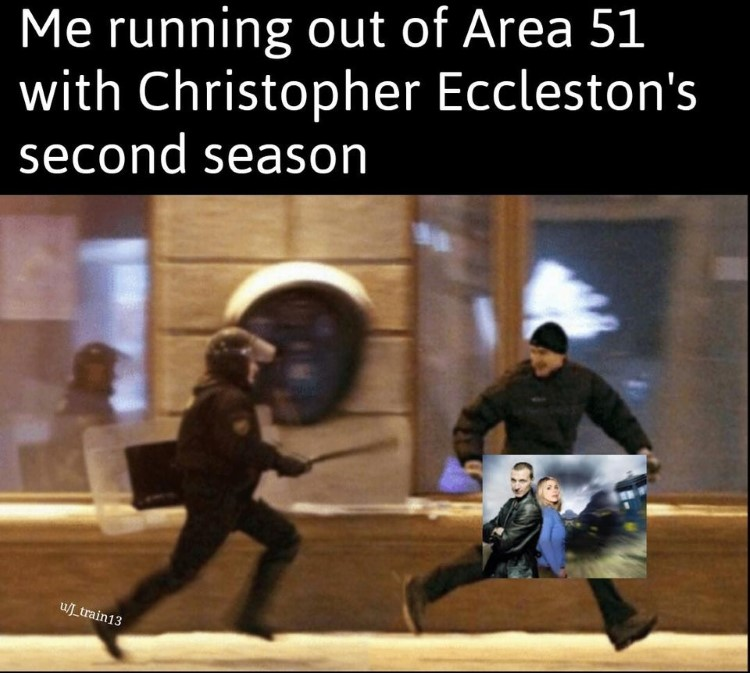 Running out of Area51 with Christopher Ecclestons second season