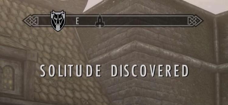 Solitude discovered in Skyrim meme