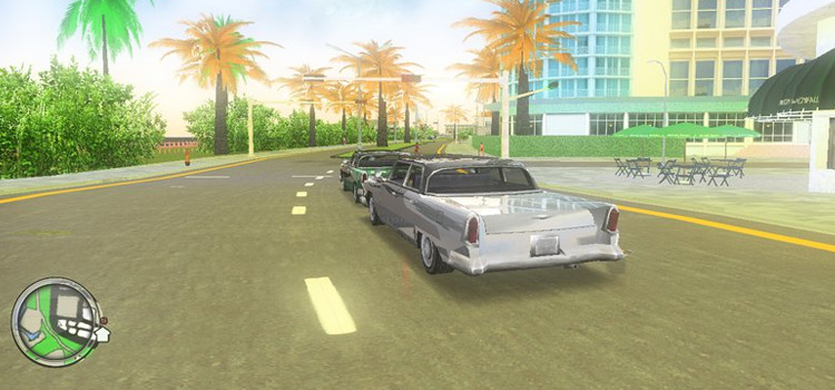 Vice City ENB modded preview
