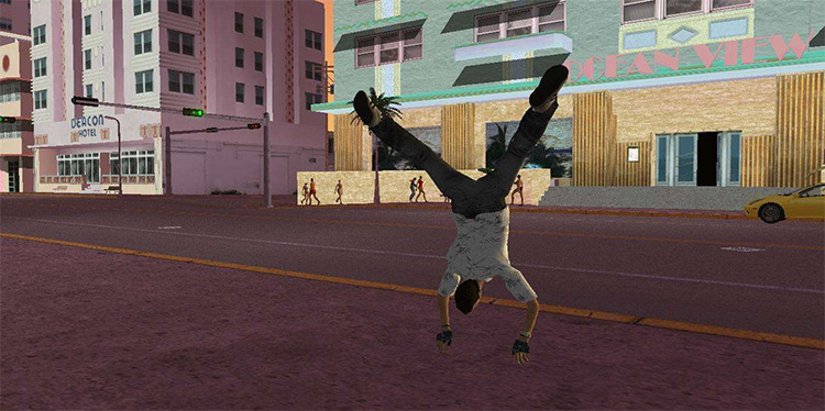 CLEO Parkour for Vice City